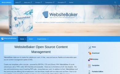 Template websitebaker cms templates.